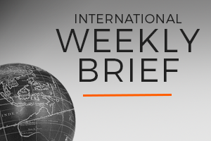 International Weekly Brief