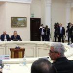 I presidenti di Russia, Iran e Turchia si inconrano a Sochi (Russia) per i colloqui sulla Siria, 22/11/2017. Credits to: Reuters.