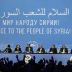 Delegati al Congresso di Dialogo Nazionale Siriano a Sochi, in Russia, 30 gennaio 2018. Credits to: REUTERS/Sergei Karpukhin.