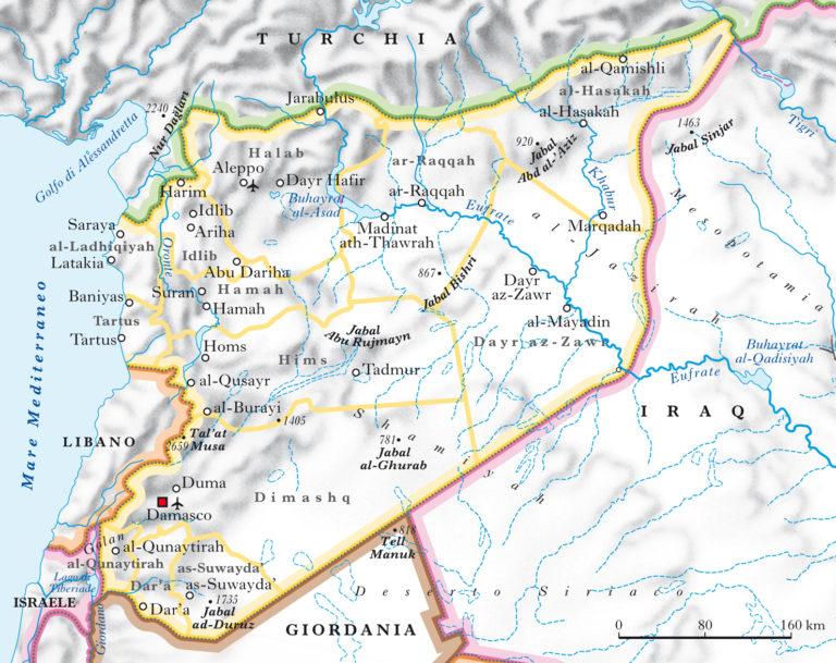 Siria: verso una partizione inevitabile?