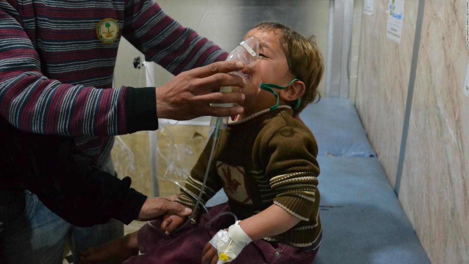 gas clorino in Siria