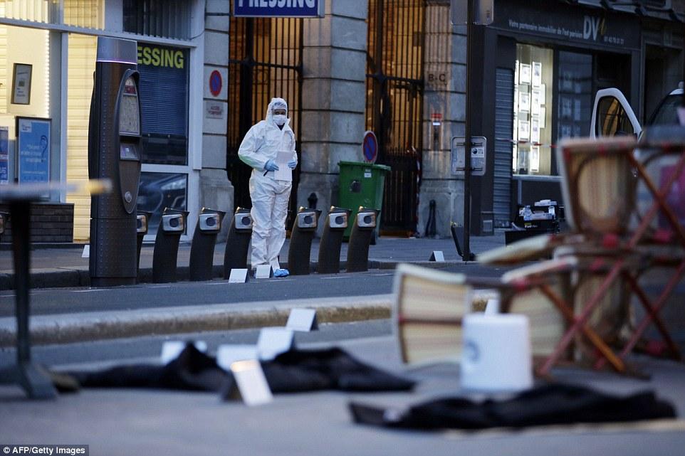attacco a parigi - gallery