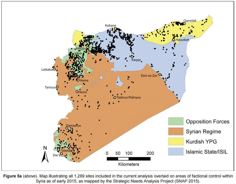 Satellite Imagery-Based Analysis of Archaeological Looting in Syria Author(s): Jesse Casana Source: Near Eastern Archaeology, Vol. 78, No. 3, Special Issue: The Cultural Heritage Crisis in the Middle East (September 2015), pp. 142-152