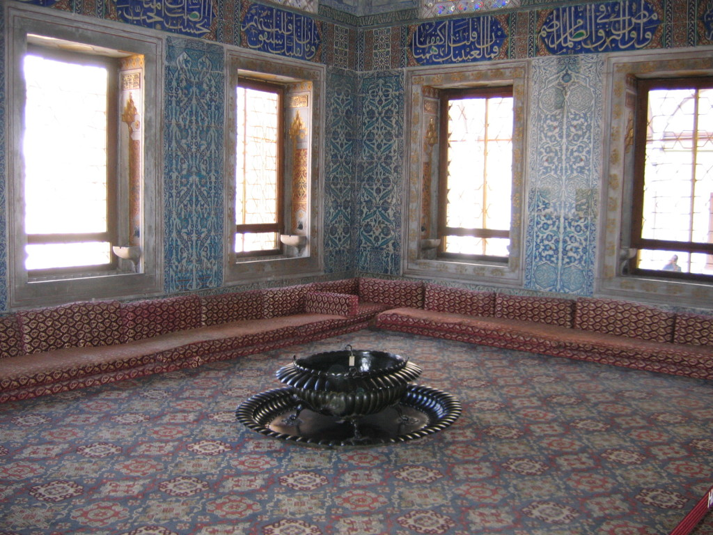 L'Harem del Palazzo di Topkapi a Istanbul. Credit to: Angela Nicoara