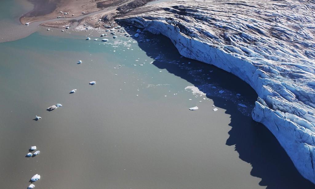 Scioglimento della calotta artica in Groenlandia / credits: Joe Raedle - Getty Images