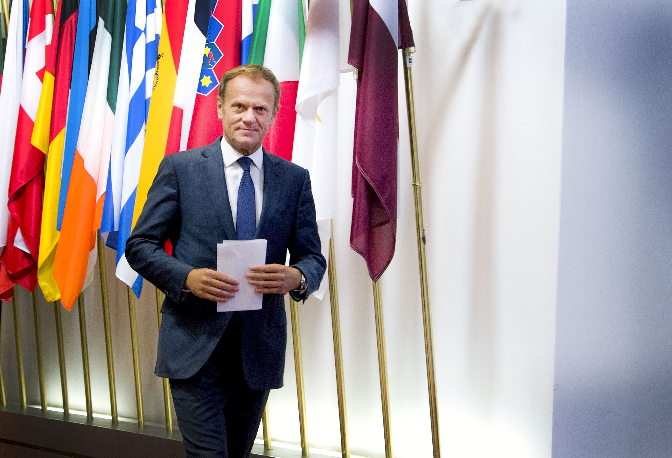 """""""Quello che non ci uccide, ci fortifica"""", questa l'opinione di Donald Tusk, presidente del Consiglio europeo / © European union"""