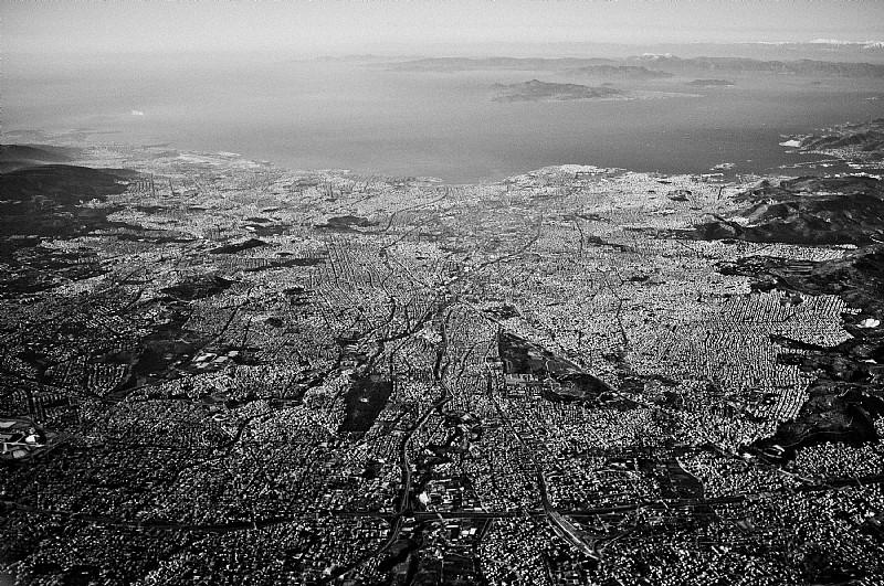 Vista aerea di Atene, Grecia. © Francesco Anselmi