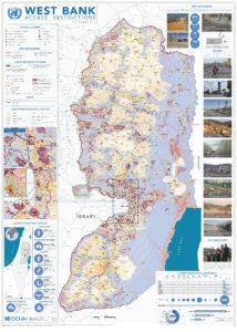 Mappa degli insediamenti israeliani fino al 2014 - credits: Ocha / Onu