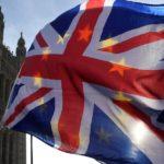 Brexit flags bandiere