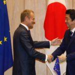 Europa e Giappone, Tusk e Abe