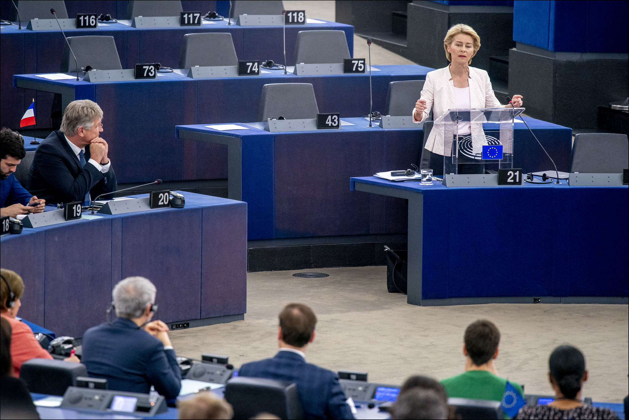 La presidente eletta della Commissione europea Ursula von der Leyen / © European Union 2019 – Source: EP