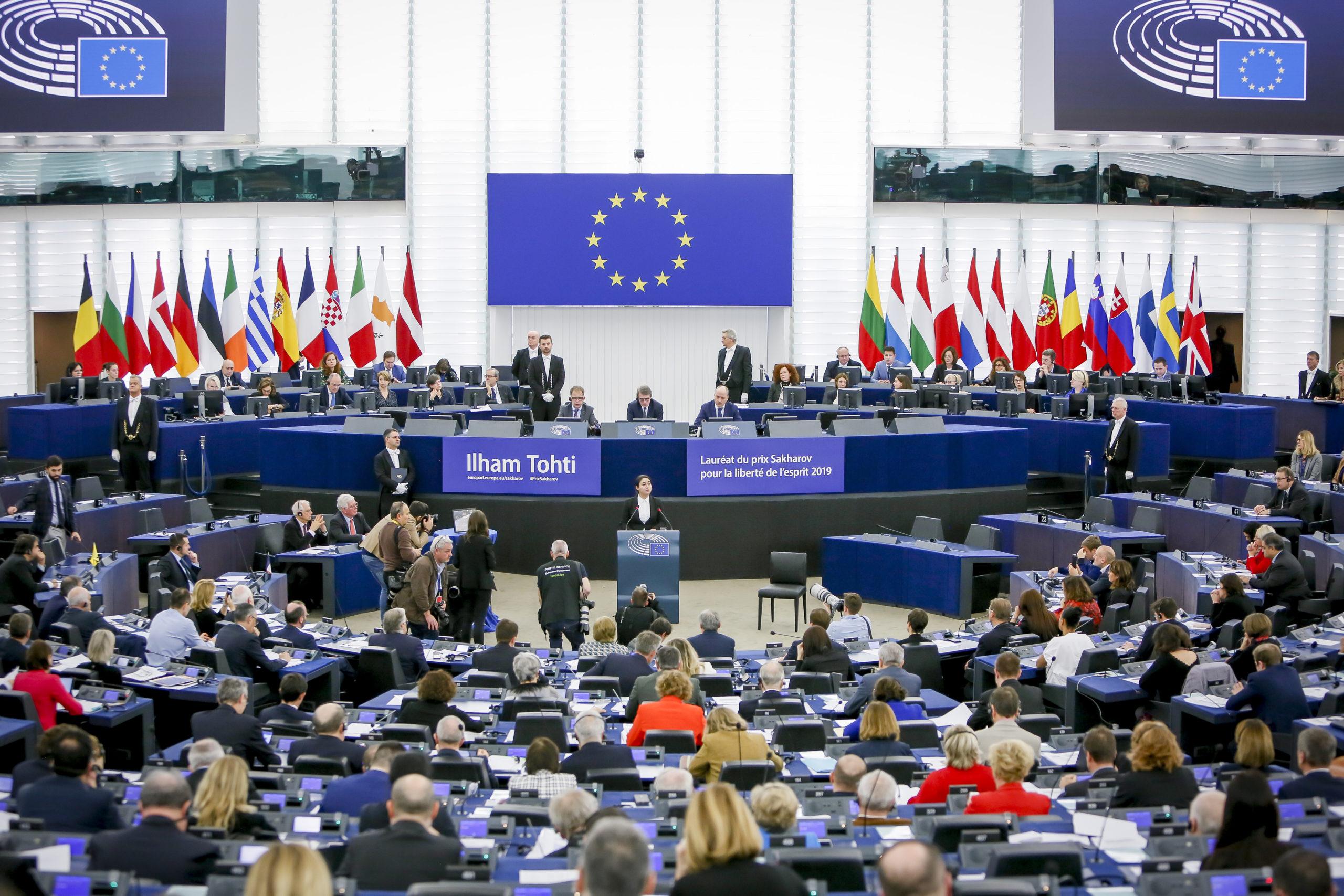 Il Premio Sacharov al Parlamento europeo / © European Union 2019 - Source : EP / Mathieu Cugnot