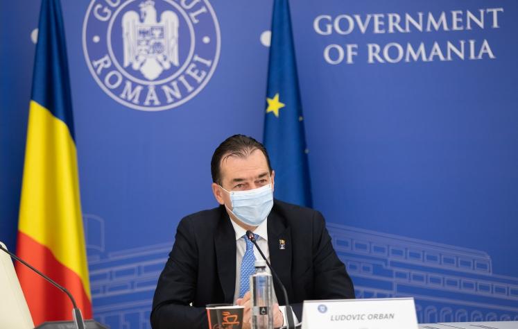 Romania ex premier Ludovic Orban